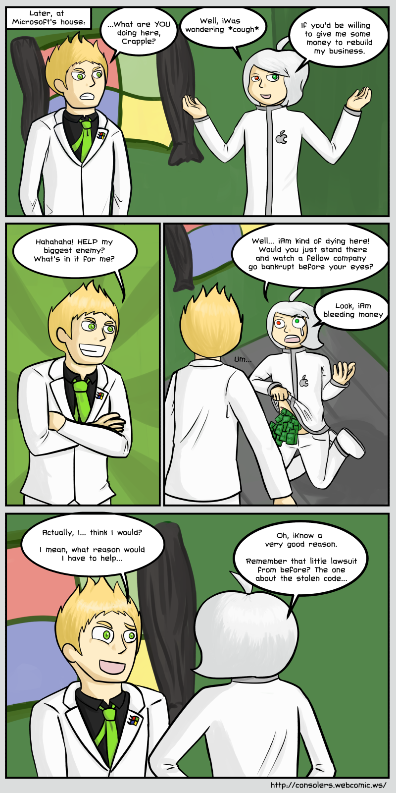 iNeed More Money - page 2
