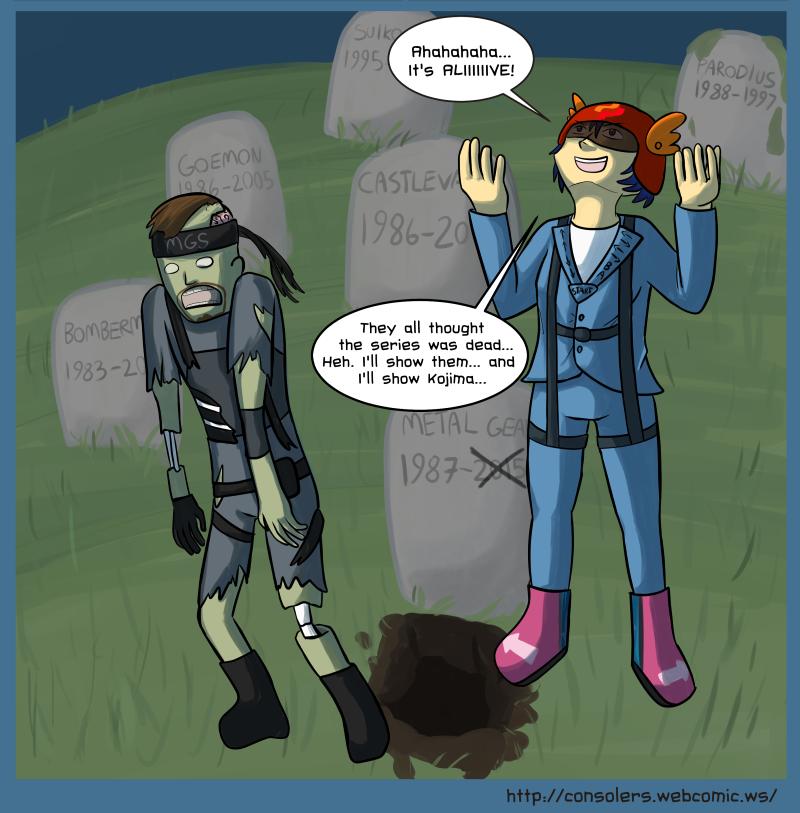 Metal Gear Barely Surviving