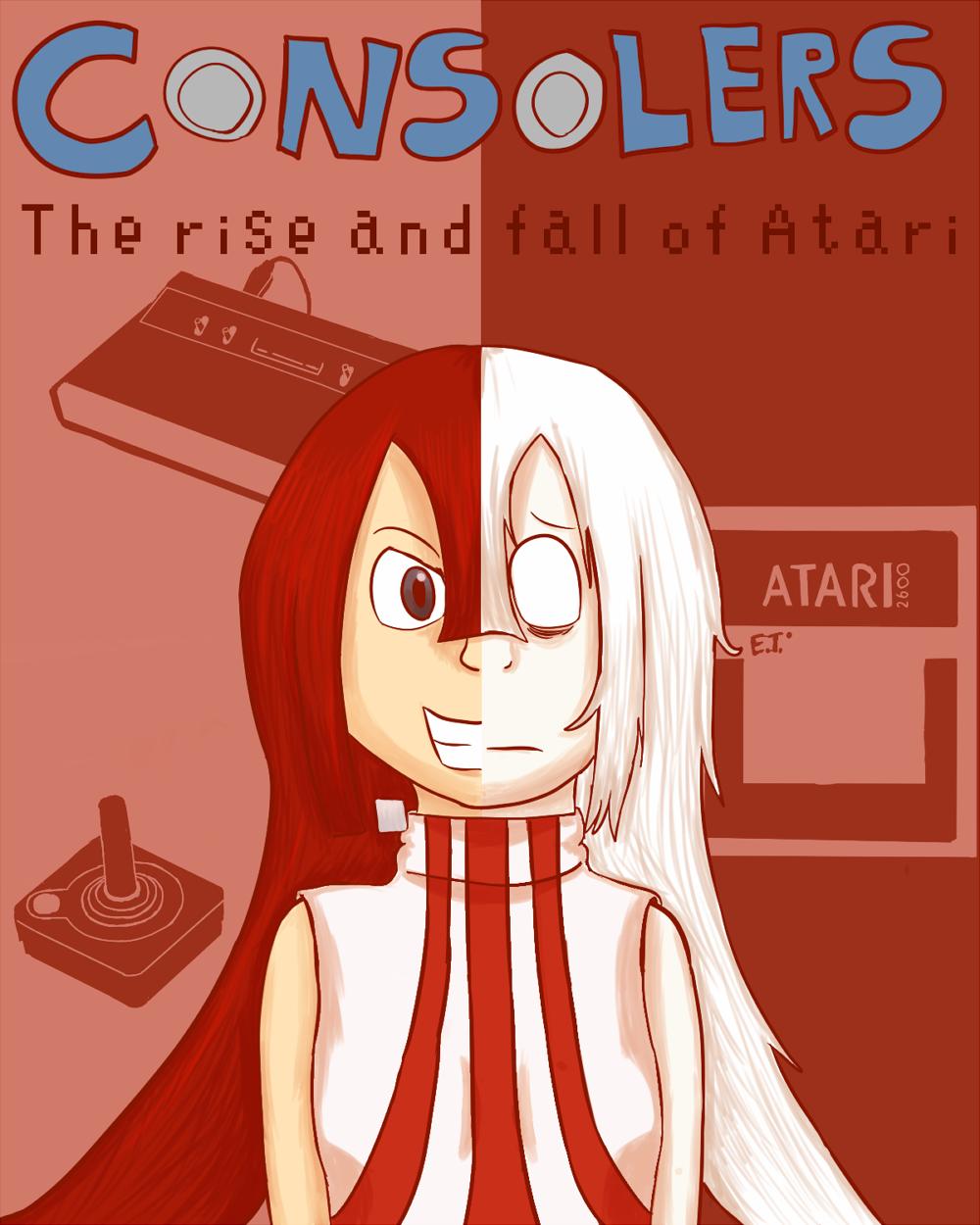 Rise and Fall of Atari - Cover